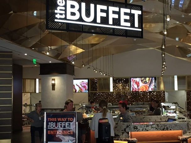 The entrance to the Buffet at the Monarch Casino Resort Spa Black Hawk