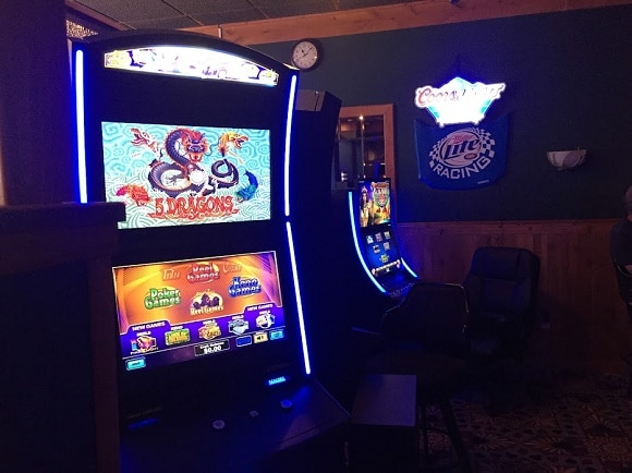 Custer's one casino has just a handful of electronic video gaming machines.