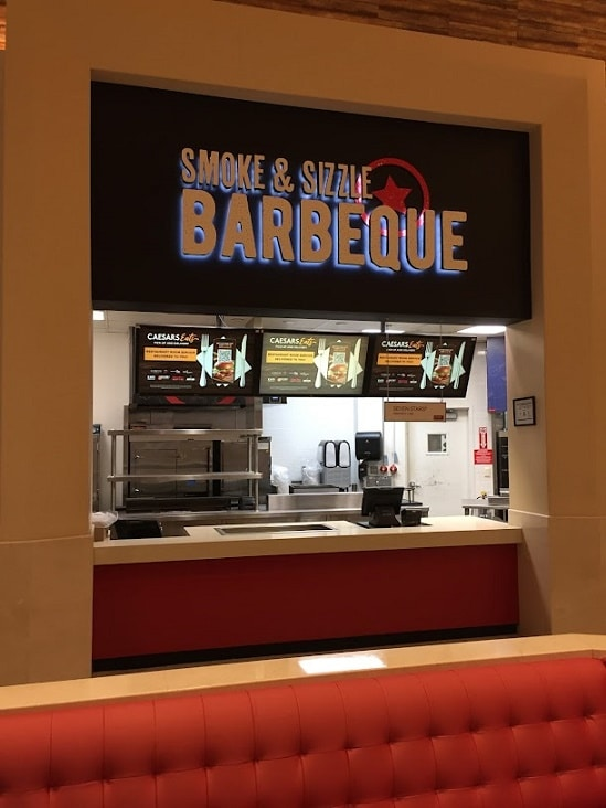 Get your barbecue on at Smoke & Sizzle at the Forum Food Hall