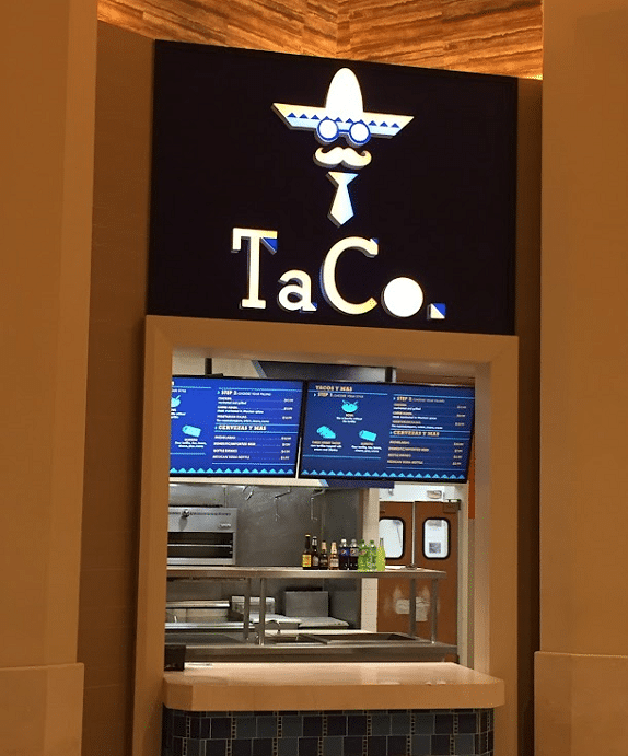 TaCo is the Forum Food Hall's Mexican spot