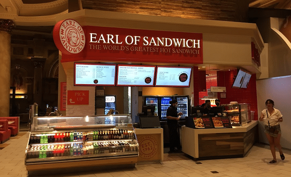 Earl of Sandwich at the Forum Food Hall