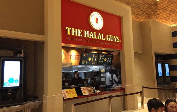 The Halal Guys at the Forum Food Hall