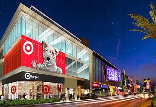 There is just one Target store on the Las Vegas Strip.