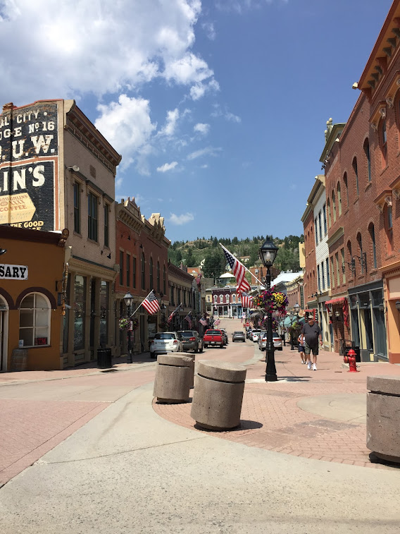 There are six casinos in Central City, Colorado