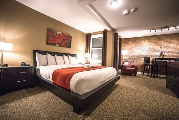 Century Casino has some of the nicest hotel rooms in Cripple Creek