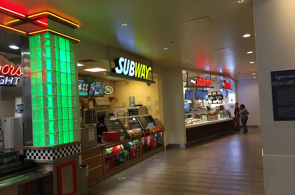 Inside the Food Court at Bally's Hotel & Casino in Las Vegas