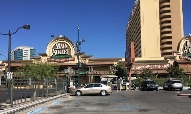 Main Street Station Casino Brewery & Hotel charges for parking