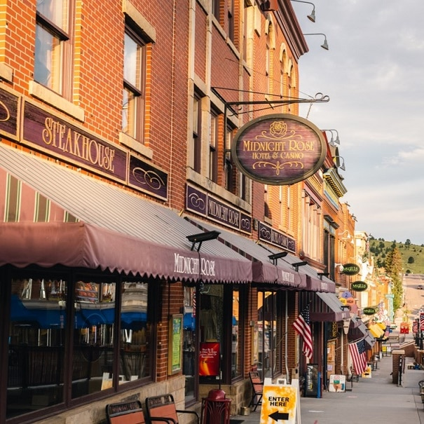 The Midnight Rose Casino in the heart of Cripple Creek