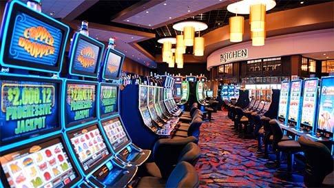 The new Quil Ceda Creek Casino has 1,500 slots and 16 table games.